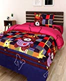 #5: Super Modern 3D Designer Printed 180TC Polycotton Single Bedsheet with 1 Pillow Cover