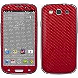 Designfolien atFoliX FX Skin pour Samsung Galaxy S3 Mini GT-I9300 Rouge