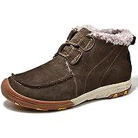 HUALQ K0929 Al Aire Libre Deportes De Los Hombres De Invierno De Los Hombres Casuales De Los Hombres Al Aire Libre Cálido Zapatos De Algodón Zapatos De Senderismo De Viaje