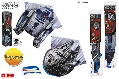 Star Wars Kite-Pop, 59x 56cm (Farbe Baby 43491)