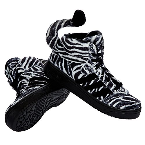 adidas, Sneaker uomo BLACK1/RUNWHT Zebra