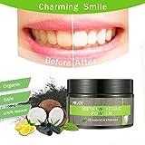 Zahnpulver, LuckyFine, Bambuskohle Zahnpulver natürliche Inhaltsstoffe Zahn Reinigung Weiße Zähne frischer Atem