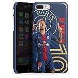 DeinDesign Coque Compatible avec Apple iPhone 8 Plus Étui Housse Paris Saint-Germain Produit sous Licence Officielle PSG Neymar Jr