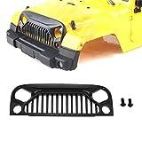 VIDOO Auto Xtra Speed 1/10 Plastica Arrabbiato Occhi Grill Corpo Adatto per Jeep Body Rc Auto Parti