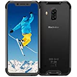Cellulare Antiurto, Blackview BV9600 4G Rugged Smartphone Offerta, 6,2 Pollici Display AMOLED Octa-Core Helio P70 Cellulare, Android 9.0, 16+8MP, 4+64GB, Batteria 5580mAh IP68 Impermeabile Telefoni