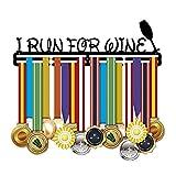 18 Inch Running Medal Hangers Awards Medaillehouder Rack Medal Display I Run voor Wijn Metaal Staal Beste Geschenken voor Honors