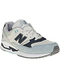New Balance - 530 - KL530GXG - Color: Blanco-Gris - Size: 36.0 PeOwha