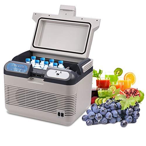 Garosa 12L Mini Kühlschrank Tragbare Elektrische Reise Kühler/Wärmer Travel Box Gefrierschrank Tisch Kühlschrank Ideal für Auto Camping Hotel (EU Stecker 220 V)