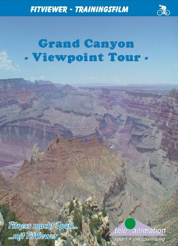 FitViewer Grand Canyon - Viewpoint Tour Indoor Video Cycling USA