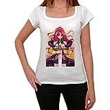 Manga Fight T-shirt Femme,Blanc, t shirt femme,cadeau