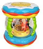 #10: Yeehaw Wonder Land Merry-Go-Round Musical Drum with 10 Songs,3 Stories,16 Types of Different Music,3 D Lights & Feather Touch Buttons
