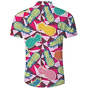 Hontongo Camiseta Casual con Estampado