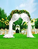 A.Monamour Computer Printed 5x7ft Wedding Ceremony Decorations Flower Arches Vinyl Fabric Photography Backgrounds Romantic Wedding Arch