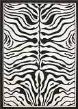 "Teppich ""Emilia"" Schwarz / Weiß (160x230cm)"