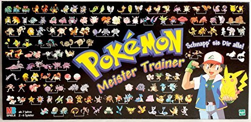 Pokémon Meister Trainer by MB Spiele -