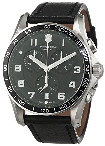 Victorinox Swiss Army Herren-Armbanduhr Chronograph Quarz Edelstahl beschichtet 241651