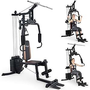 Physionics Fitnessstation Multistation Hantelbank
