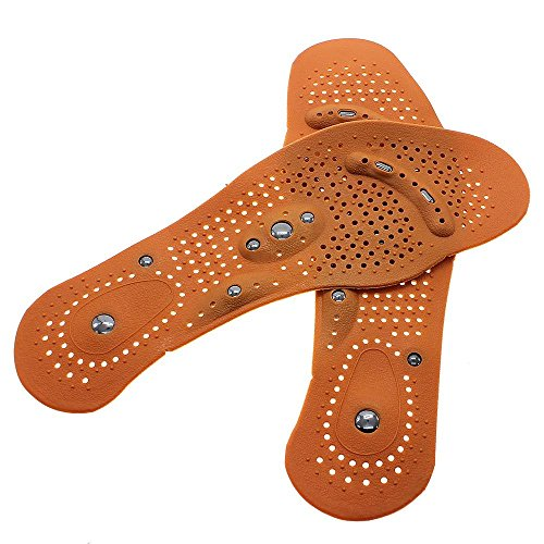 GGG Gesundheit 1 Paar Magnetische Therapie Bunion Fußschmerzen Heilung Schuh Einlegesohlen Booten Auflagen (Schuheinlagen Bunions)