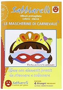 Sabbiarelli - Álbum de Recortes para máscaras de Carnaval
