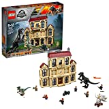 LEGO 75930 Jurassic World Indoraptor Rampage at Lockwood Estate, Hybrid Species Dinosaur Figures in Mystery Mansion, Fallen Kingdom Adventure Play Sets for Kids