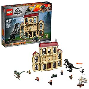 Lego Jurassic World Attacco Dell'Indoraptor al Lockwood Estate, 75930