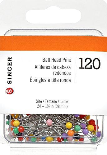 Singer Ball Head gerade Pins, 120-count -