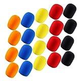 Kmise ® 4-set di 5 spugne-Schiuma microfono parabrezza, per DJ, karaoke, protezione a lungo termine