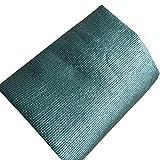 YANZHEN Sichtschutznetz Sonnensegel Senken Sie die Temperatur-Grün-Pflanzenschutz-UVblockierungsverschlüsselung mit Metallloch-Polyäthylen, 16 Größe (Farbe : Dunkelgrün, größe : 2x5m)