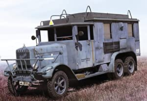ICM ICM354673 Henschel 33D1 Kfz.72 WWII German Radio Communication Truck
