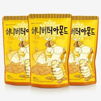 Honey Butter Almond 250g (Pack of 3)