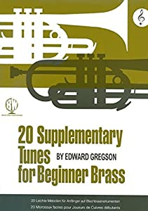Edward Gregson: 20 Supplementary Tunes For Beginner Brass (Treble Clef). Sheet Music for French Horn, Tuba, Brass Instruments