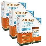 3 x 2 x 100ml Ardap Fogger Doppelpack Ungeziefer Vernebler für 2 Räume bis 30 m²