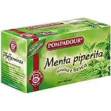 Pompadour Infusione per Bevande Calde, Menta Piperita - 20 Astuccio
