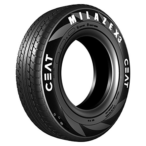 Ceat Milaze X3 155/65 R13 73T Tubeless Car Tyre (Home Delivery)