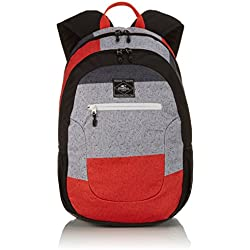 O'Neill Rucksack AC Ledge Backpack - Mochila Unisex, Color (Black AOP Red), Talla 21 x 30 x 46 cm, 30 litros