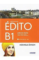 Descargar gratis EDITO B1 ELEVE+DVD ROM ED.18 en .epub, .pdf o .mobi
