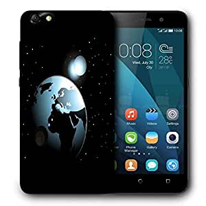 Snoogg background with space in earth Designer Protective Back Case Cover For Huawei Honor 4X