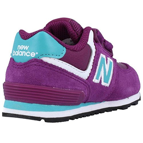 New Balance KG574 M Unisex-Kinder Sneakers Violett