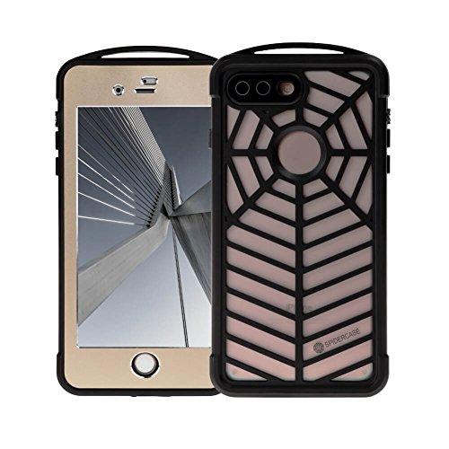 iphone7plus Wasserdicht Handy Shell Spider Schutzhülle Serie Super superdünn mit Touch ID integrierter Displayschutzfolie Outdoor Wasser (Tweed-wrap)