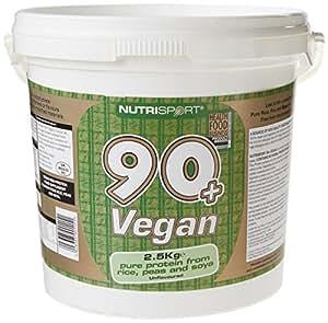 Nutrisport 90+ Protein Vegan Powder 2.5kg