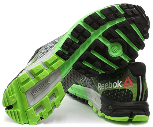 Reebok One Cushion 2.0 TR Homme Trail Running Baskets / Sneakers Noir Black/Grey/Green