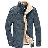 Mantel Sunnyadrain Herren Jacke Fleece Reine Farbe Plus Größe Reißverschluss Geschäft Pullover Winter Warm Sweatshirt Top Langarm