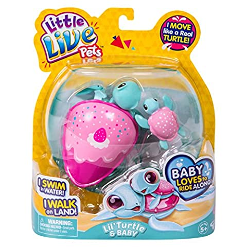 Little Live Pets 28315 Turtles Single Pack