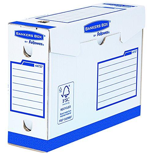 Bankers Box 4472702 Heavy Duty Archivschachtel 20er Pack 100% recycelt, 100 mm
