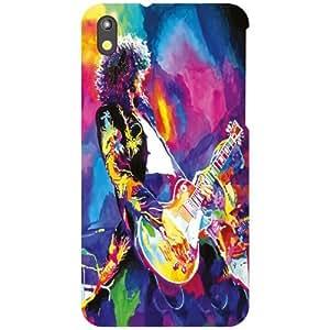 HTC Desire 816G Back Cover - Love For Music Designer Cases