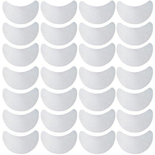 Vococal 100 Paires Patchs pour Extension de Cils Anti-Ride Eyepad, Non-tissé Jetable