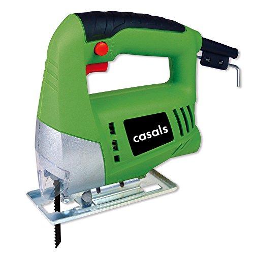 Casals VNC50 - Sierra de calar (potencia 350 W, 3.000 rpm) color verde y negro