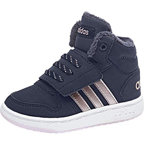 adidas Unisex Baby Hoops Mid 2.0 Sneaker, Blau Legink/Vagrme/Trablu, 23 EU -