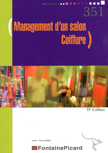 Management d'un salon BP coiffure