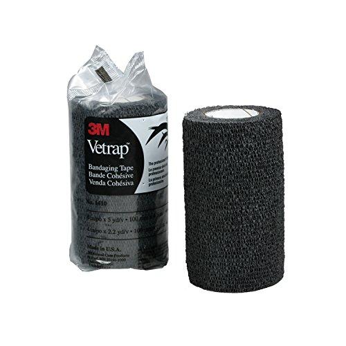 3M Health Care Vetrap - Benda da 10cm (10cm) (Nero)